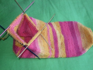 Plane Jane Sock 2 Progress